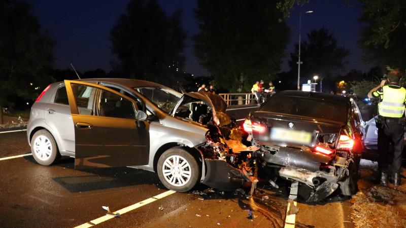 Gewonde bij ongeluk in Amsterdam.