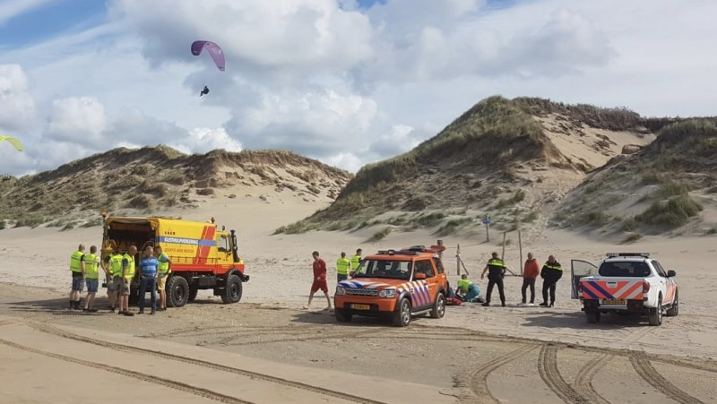 Opnieuw paraglider gewond geraakt