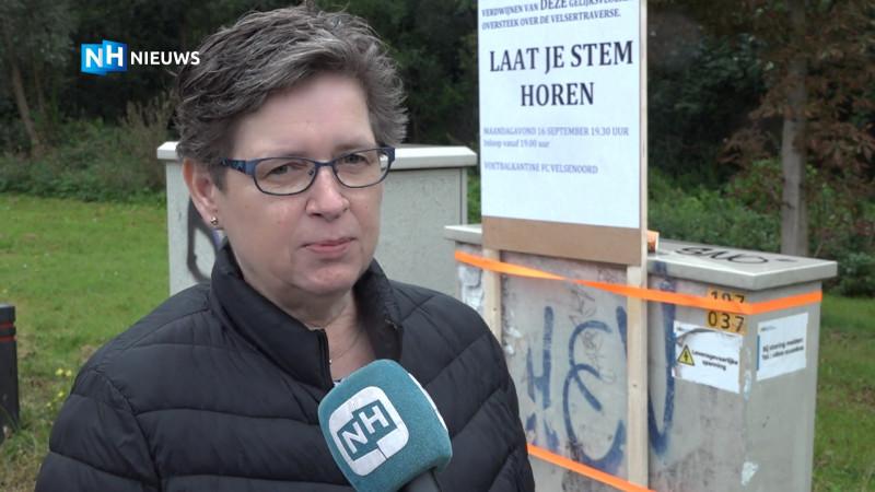 Wijkplatform Velsen-Noord over Velsertraverse