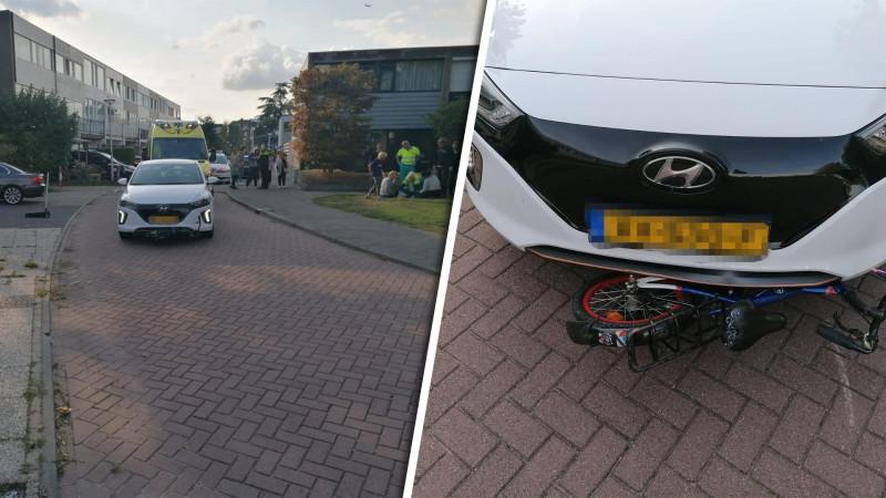 Kind op fiets gewond bij aanrijding in Uithoorn.