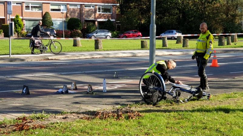 Fietsster geschept op Texelstroomlaan Den Helder