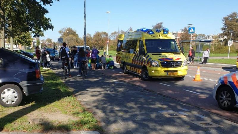 Fietsster zwaargewond bij aanrijding in Den Helder.