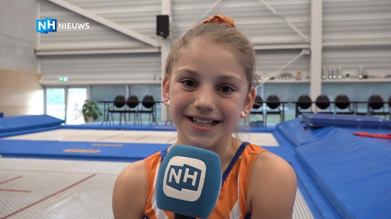 Thalissa Wijkstra trampoline Alkmaar