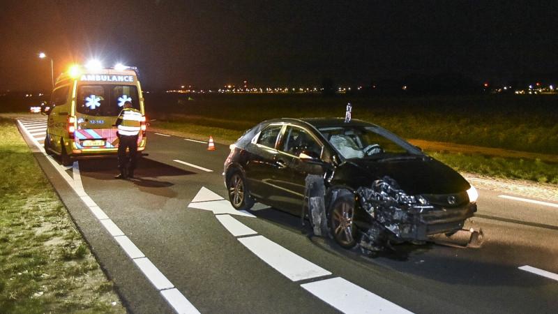 Bestuurder gewond bij eenzijdig ongeluk A9 Badhoevedorp.