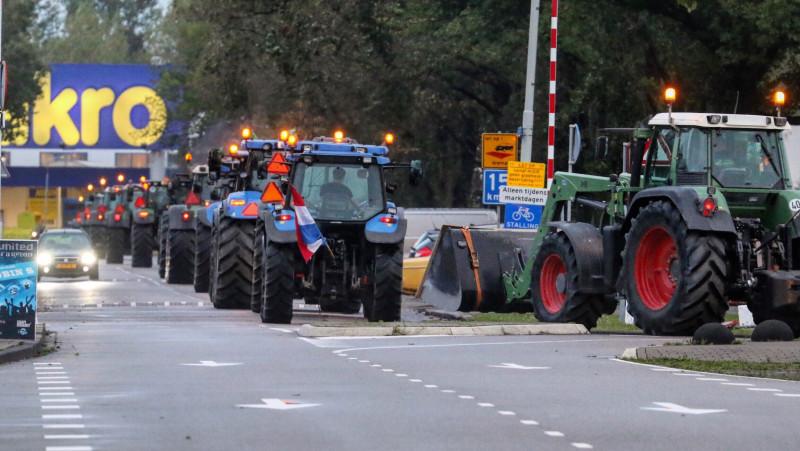 Overlast door boerenprotest valt mee: vooral druk door ongelukken.