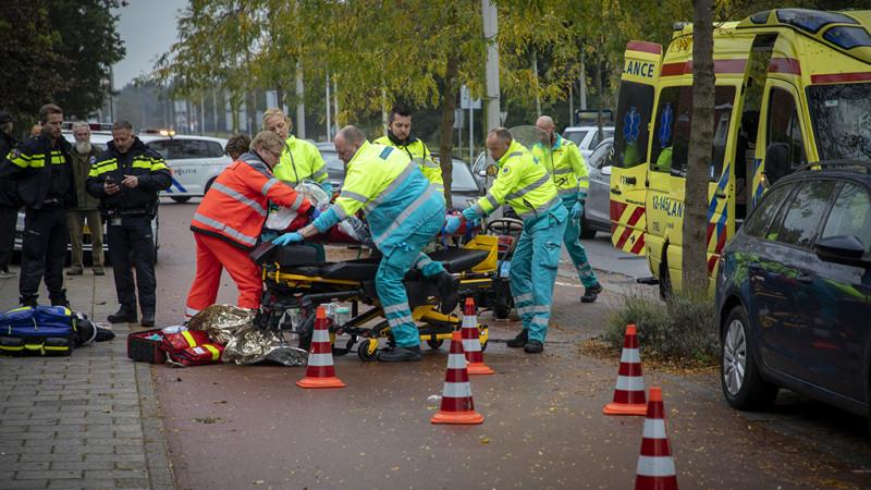 Scooterrijder zwaargewond bij ongeluk in Zandvoort.