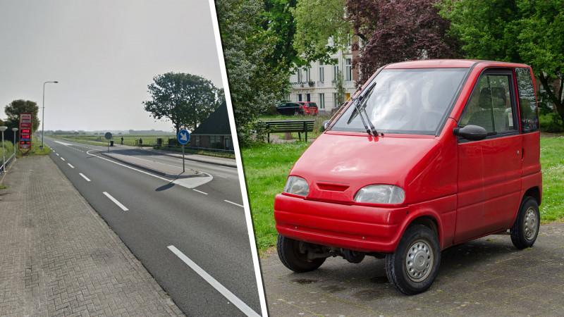 Canta-bestuurder gezocht na ongeluk Egmond aan den Hoef: fietsster uit Amsterdam gewond.