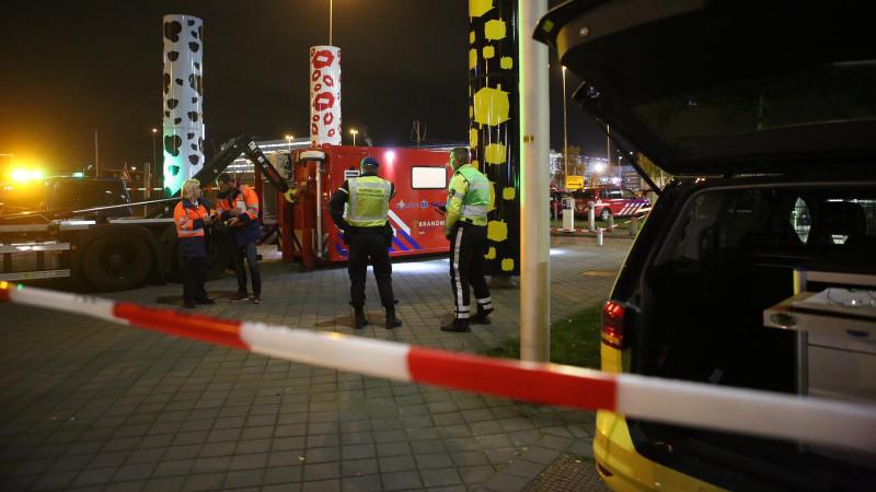 Hulpdiensten staan op Schiphol
