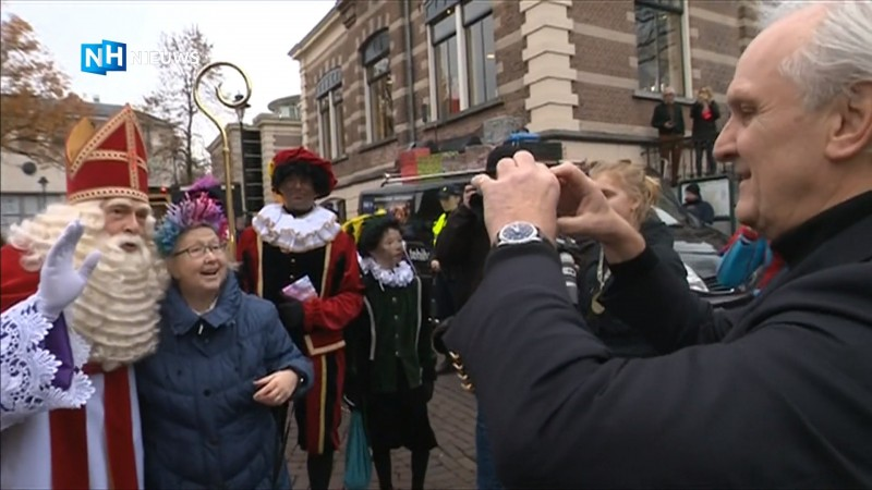 Sinterklaas komt aan in Hilversum