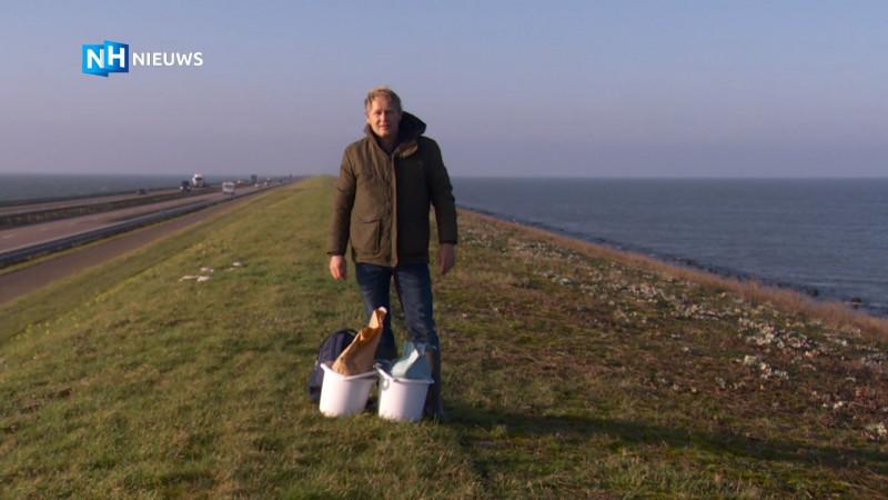 """De Afsluitdijk zit vol met bijzondere planten: """"Dit moet je wel behouden!"""""""