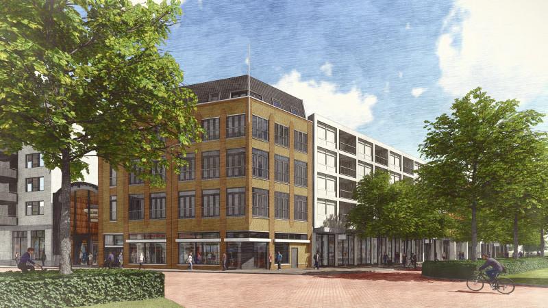 Plannen met de Kroonpassage in Den Helder