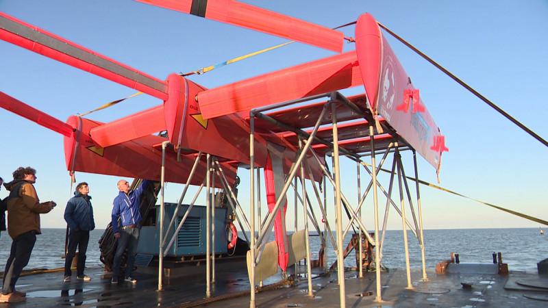 High-tech onderwatervlieger die stroom kan opwekken uit eb en vloed heeft enorme potentie.