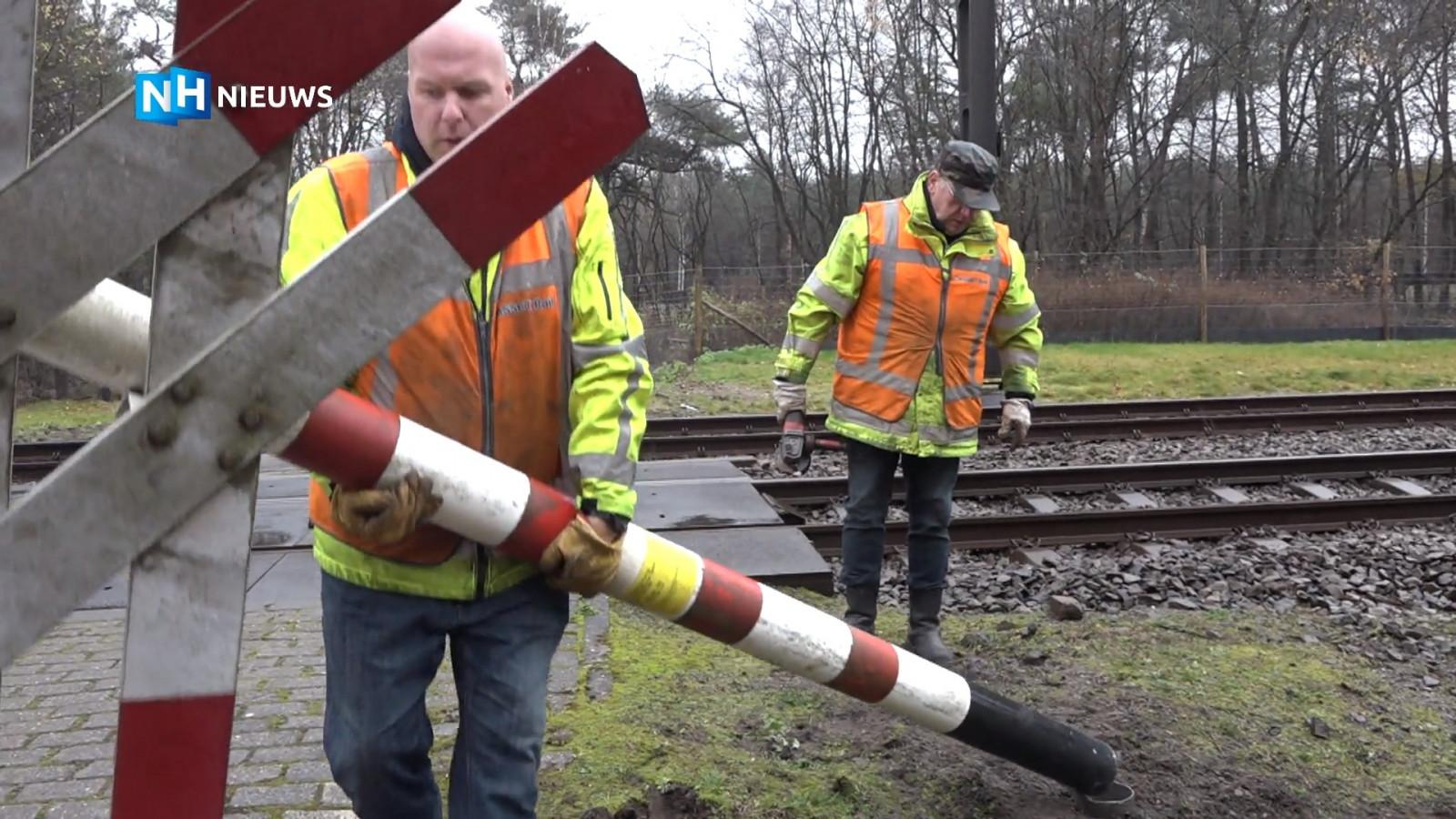 Spoorwegovergang Hilversum definitief gesloten na zes dodelijke ongelukken in de afgelopen jaren.