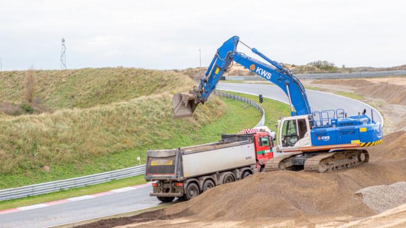 Werkzaamheden circuit Zandvoort Formule 1