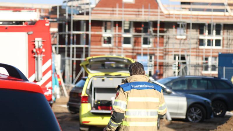 Bedrijfsongeval Botterstraat Huizen