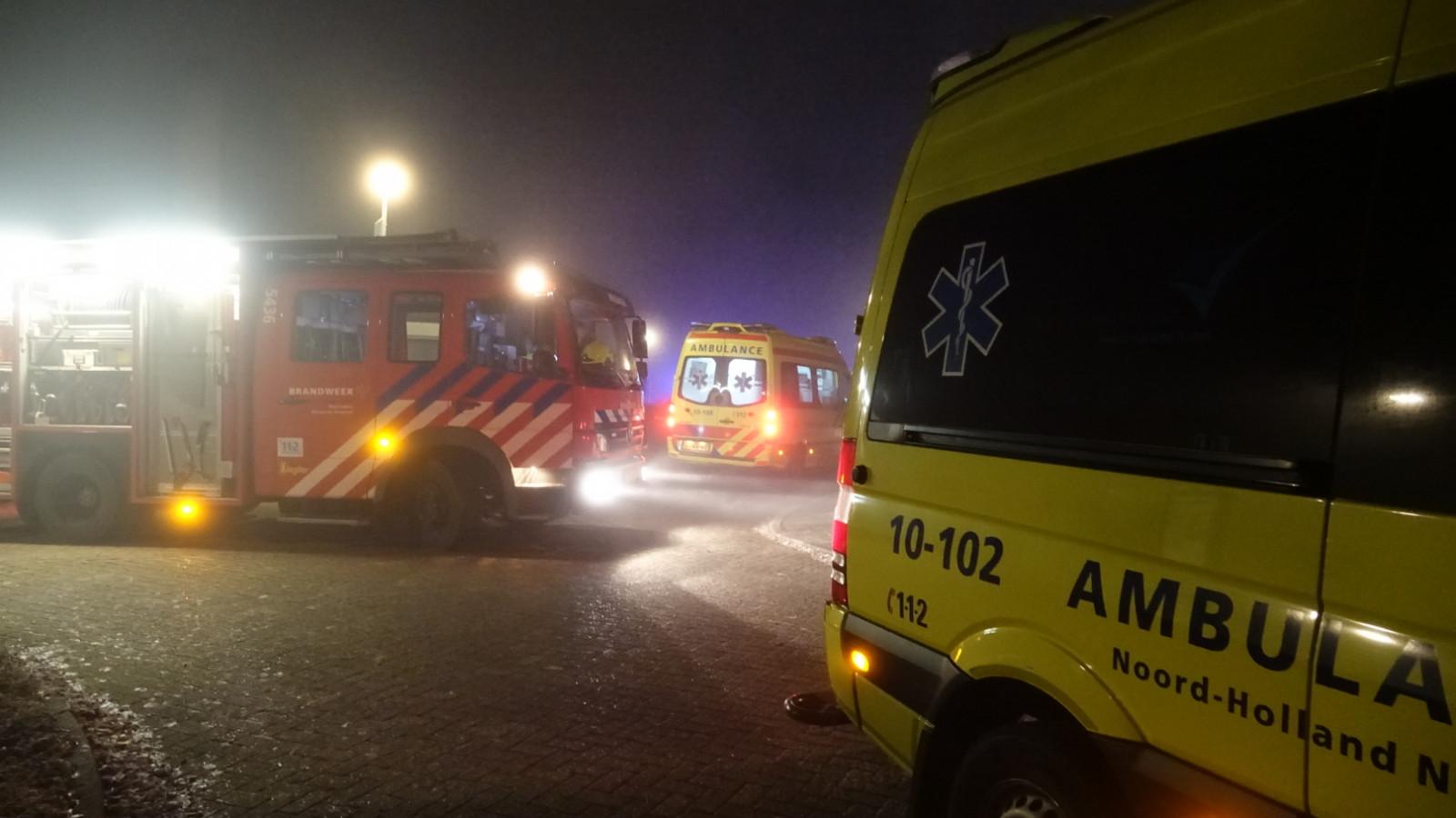 Man zwaargewond bij waterongeval Zwaagdijk-West.
