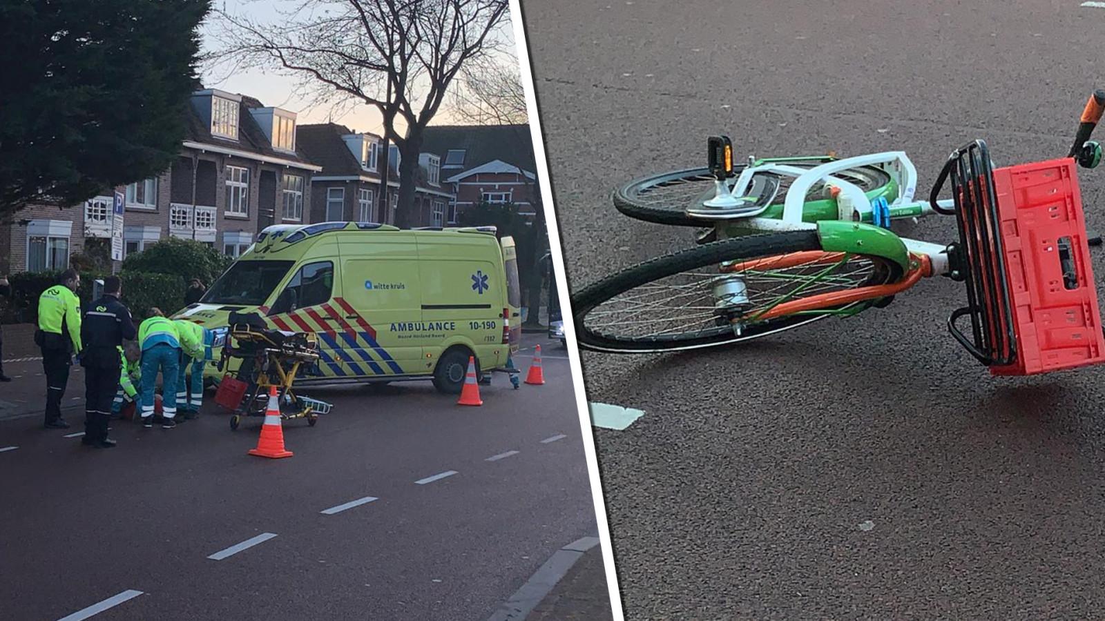 Meisje aangereden terwijl ze op kruising fietste, zwaargewond naar ziekenhuis.