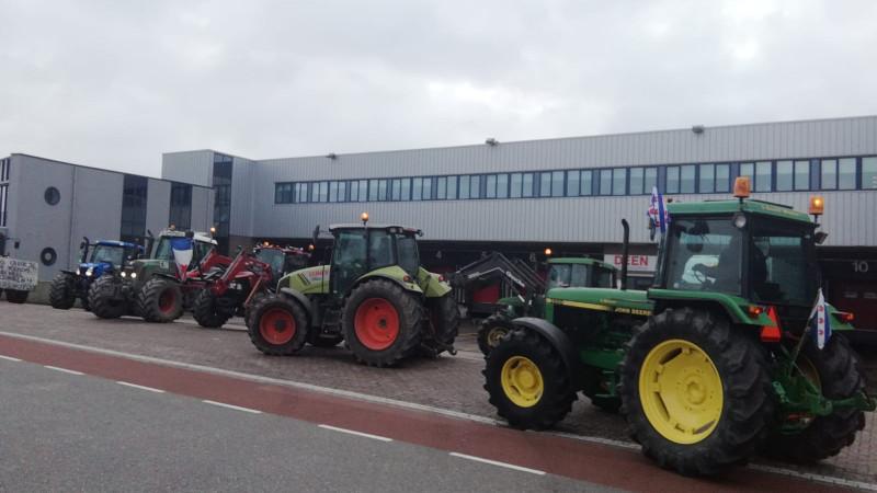 Boeren naar winkels