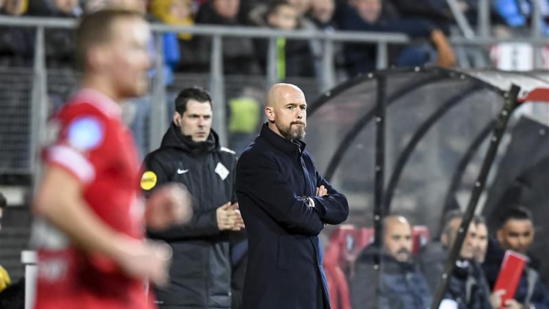 Erik ten Hag vond dat AZ - Ajax geen winnaar verdiende
