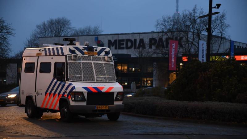 Boerenprotest op Mediapark Hilversum