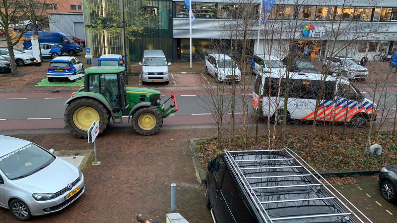 Boerenprotest Mediapark NOS
