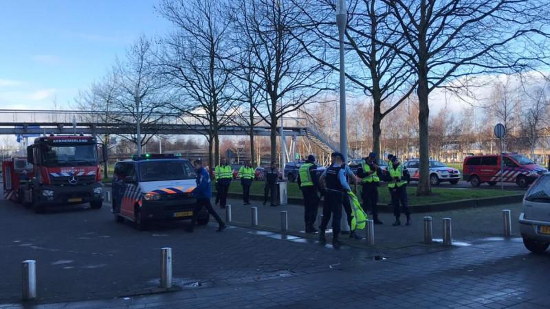 Verdacht pakketje op Schiphol