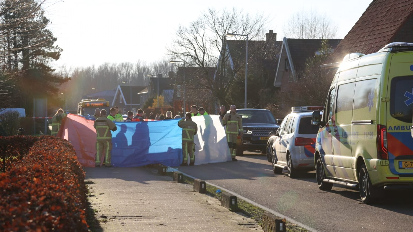 Voetgangster overleden na aanrijding met auto in Den Ilp.
