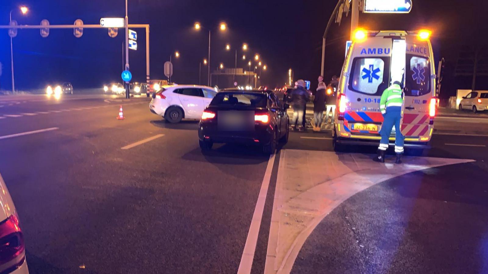 Één arrestatie bij auto-ongeluk N245 bij Alkmaar: voertuig blijkt gestolen.