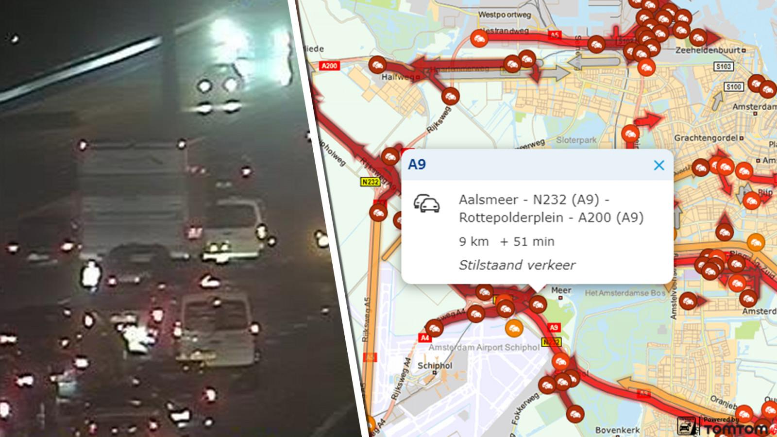 Automobilist zit ruim een half uur bekneld na ernstig ongeluk in Kootwijk.
