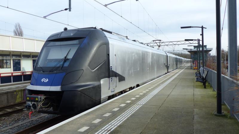 Zilveren trein