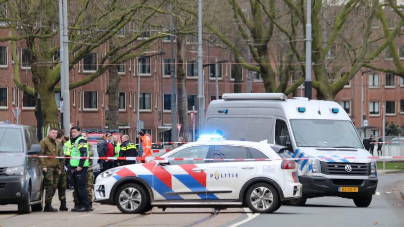 Verdacht pakket bij restaurant HaCarmel Amsterdam