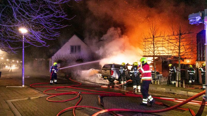 Uitslaande brand Heemskerk