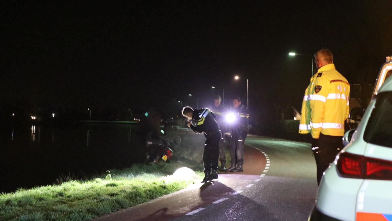 Scooterrijder gewond bij ongeval in Amstelveen.