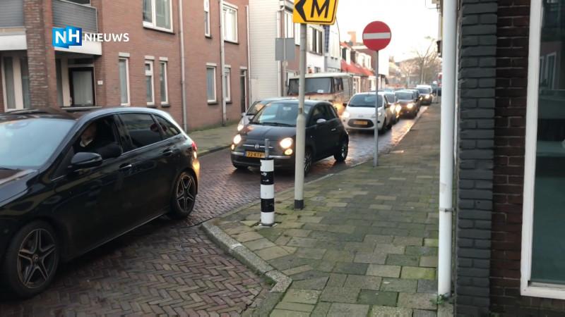Verkeersinfarct in Beverwijk