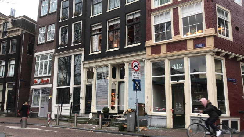 Explosief gebruikt bij inbraakpoging horlogewinkel Amsterdam