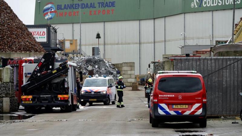 Twee zwaargewonden bij beknelling op bedrijfsterrein Beverwijk
