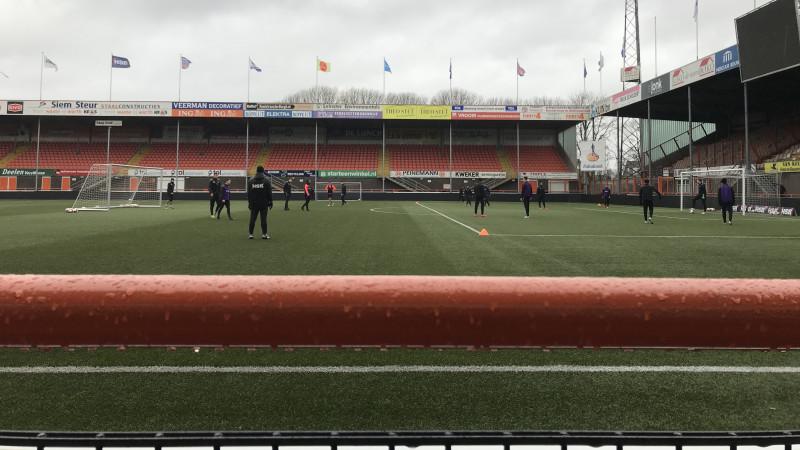 FC Volendam maakt zich op voor vissersderby