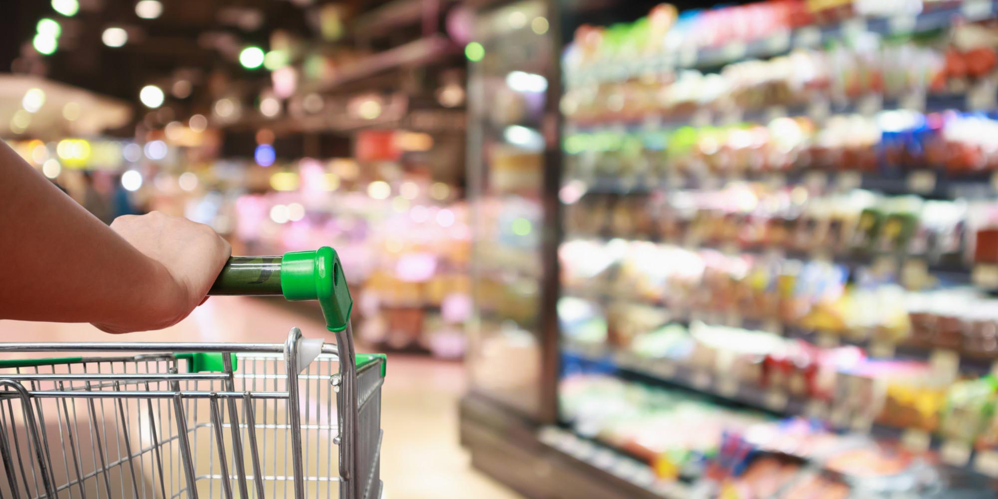 Supermarkt stock