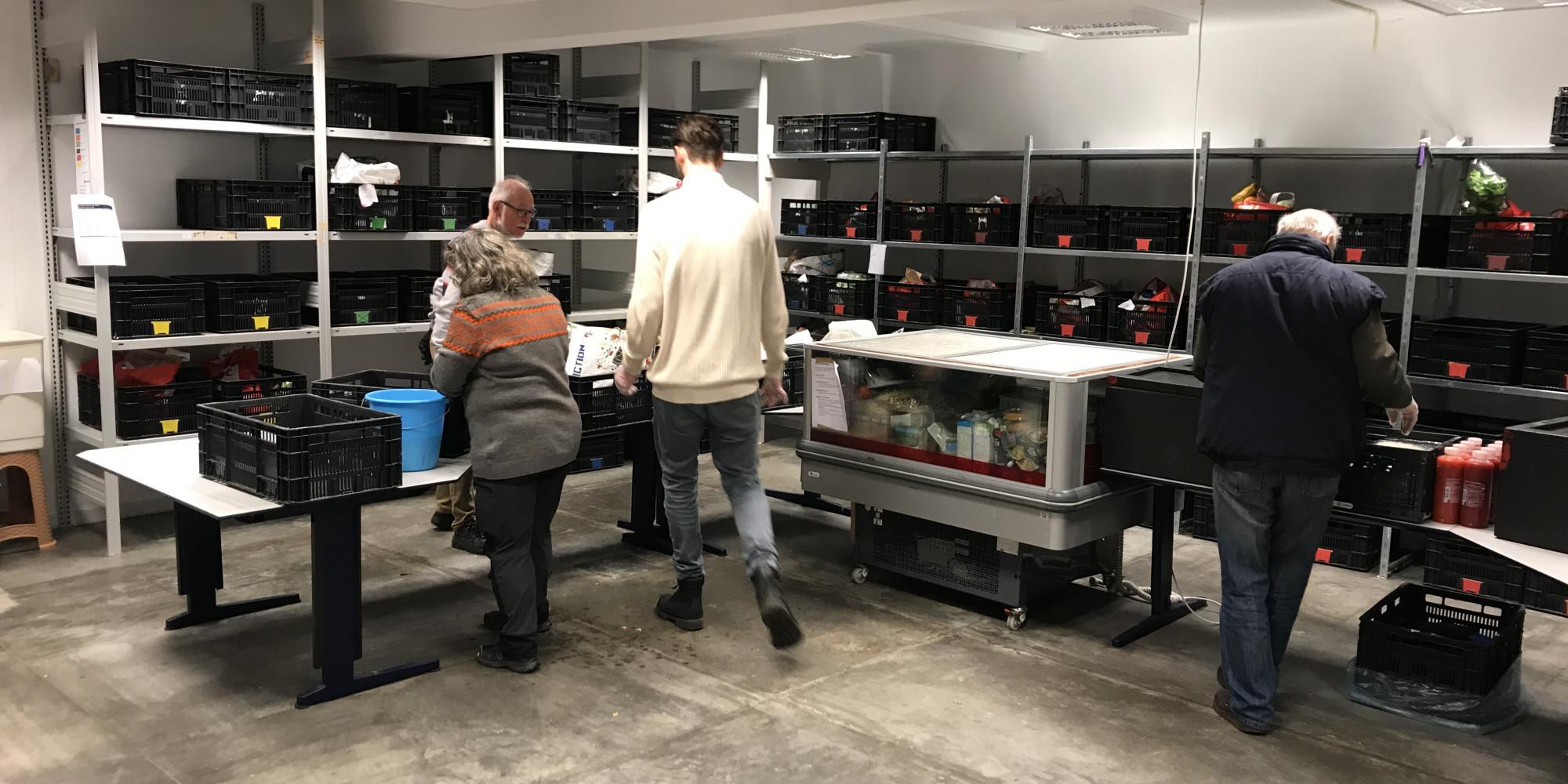 Klanten komen niet meer binnen bij de voedselbank in Hilversum