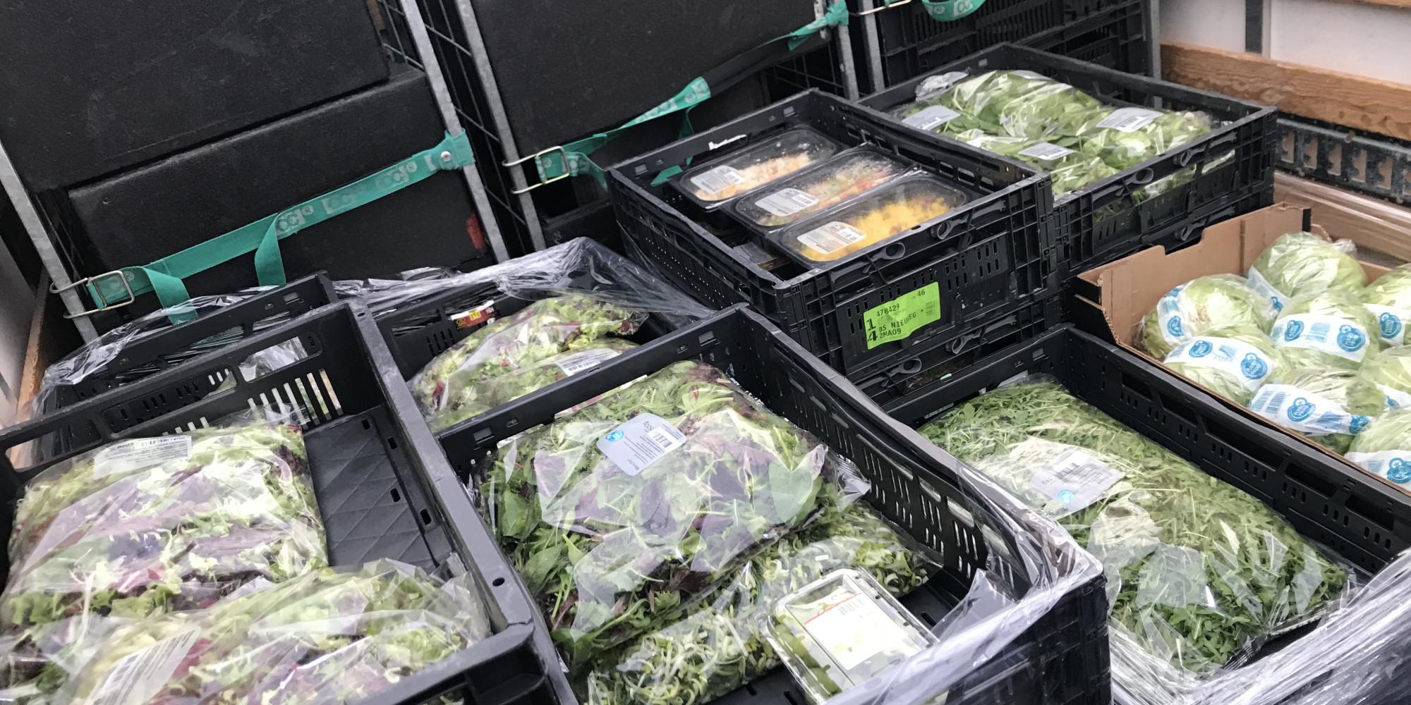 Veel extra versproducten bij de voedselbank in Hilversum deze week