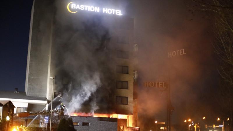 Brand hotel Santpoort-Noord