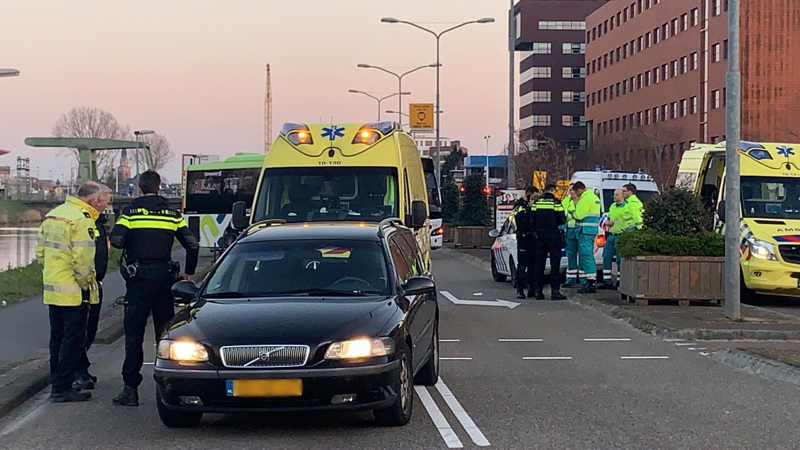 Man overlijdt bij dodelijk ongeval op Helderseweg in Alkmaar.