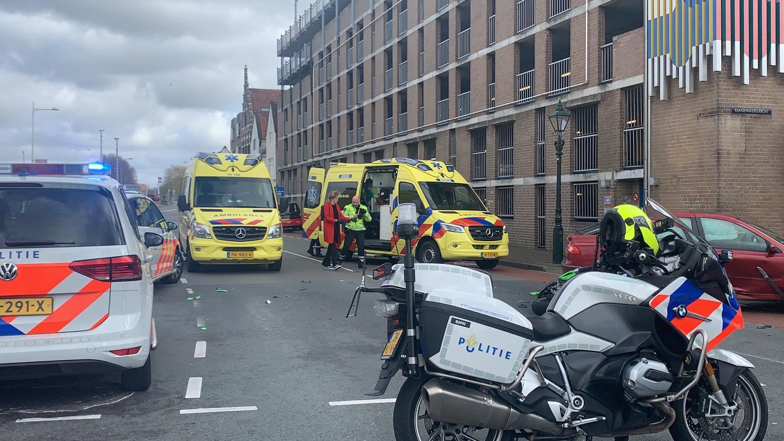 Motorrijder overleden na ongeluk in Alkmaar.