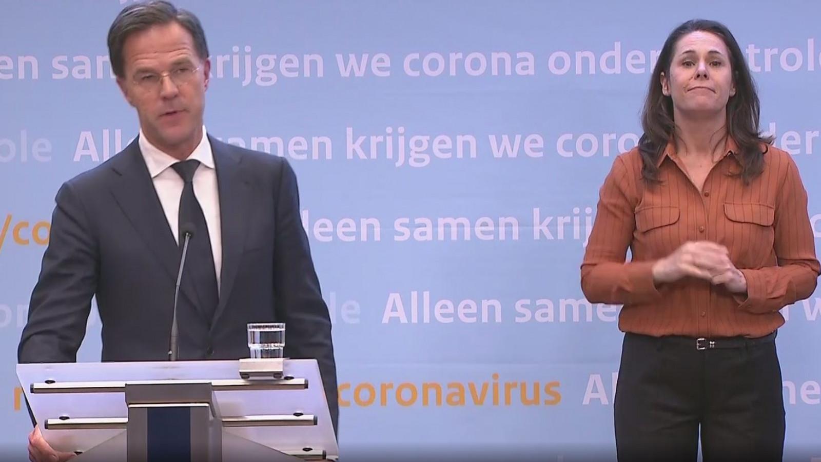 LIVE: Persconferentie Premier Rutte Over Coronamaatregelen