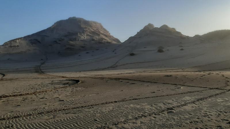 Motorsporen duinen Egmond