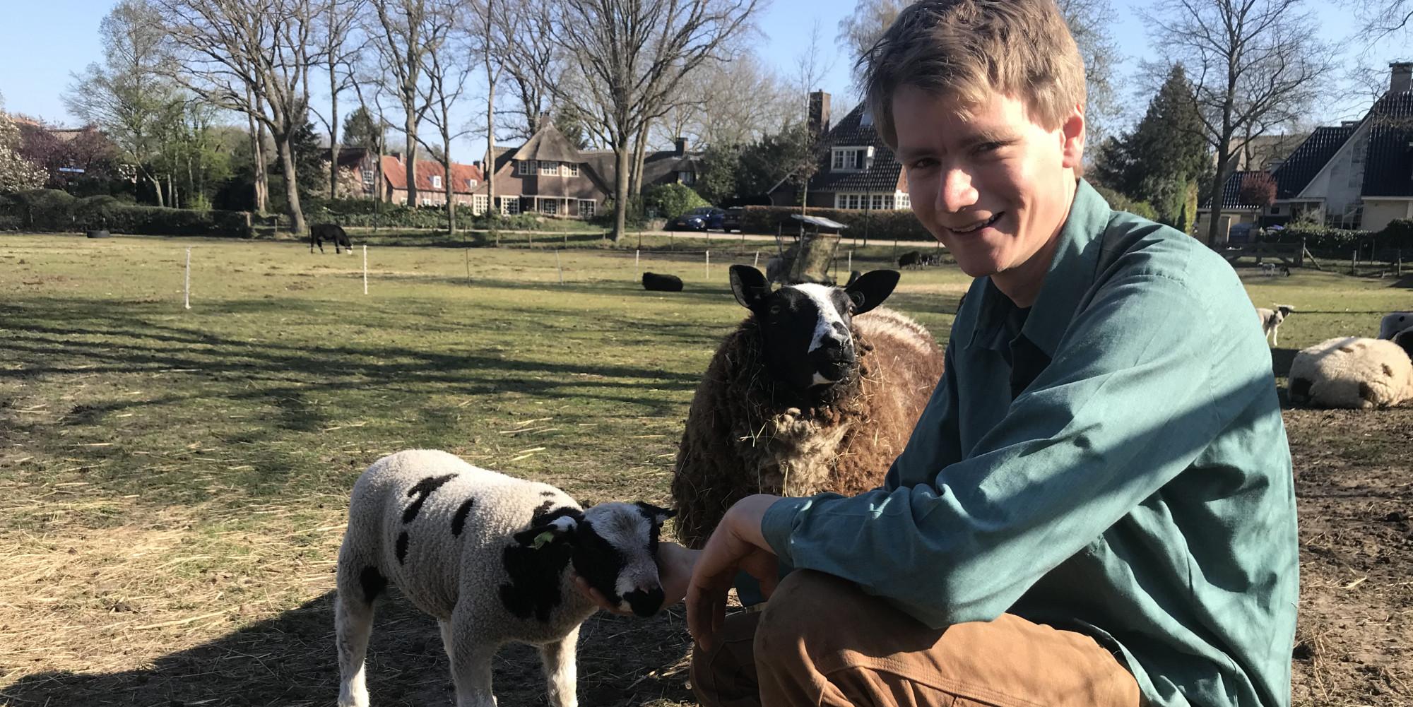 De lokale boer Joep de Jong