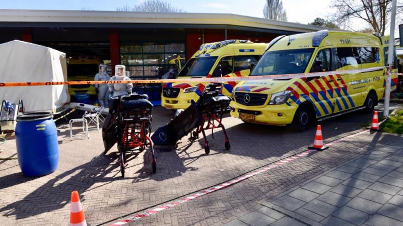 Ambulancepost Zaandam Schoonmaak