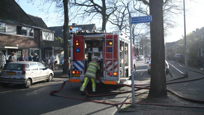 Brand amperestraat