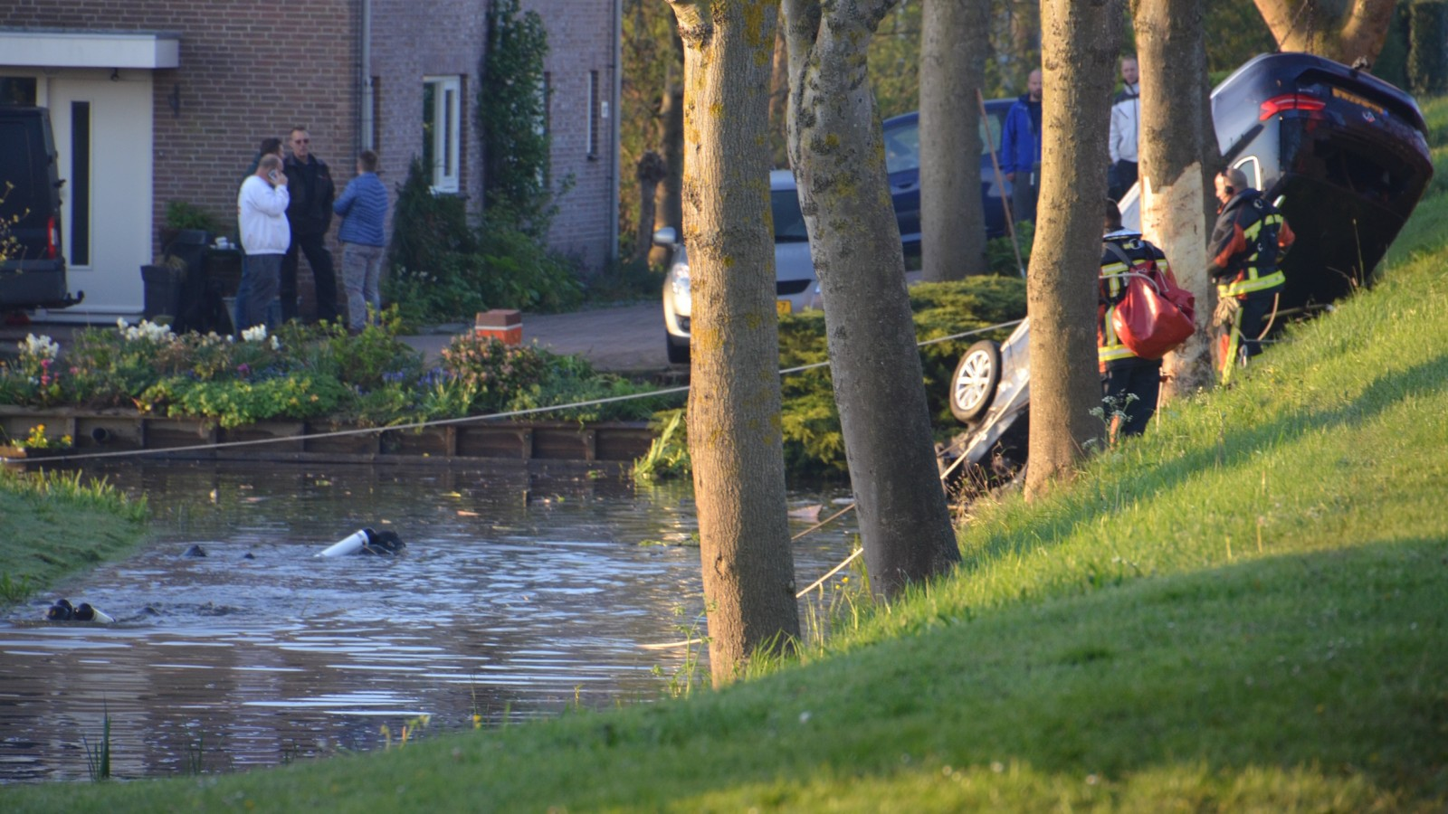 Vrouw uit Nieuwe Niedorp omgekomen bij auto-ongeluk in Waddinxveen.