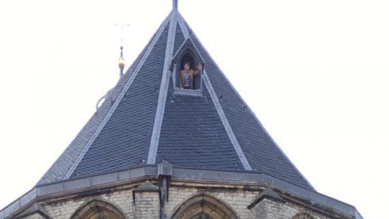 Julius Meijer op de Grote Kerk